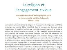 Bureau des affaires extérieures contribue « documents de réflexion » au discours public