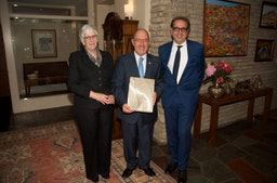 Embassy of Chile celebrates the Baha'i Temple of South America