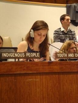 Des bahá'ís canadiens participent à une session de l'ONU sur le développement durable