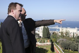 Minister Baird visits the Baha'i World Centre
