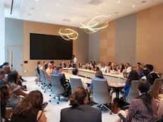 Des jeunes baha'is participent à un forum politique de haut niveau de l'ONU