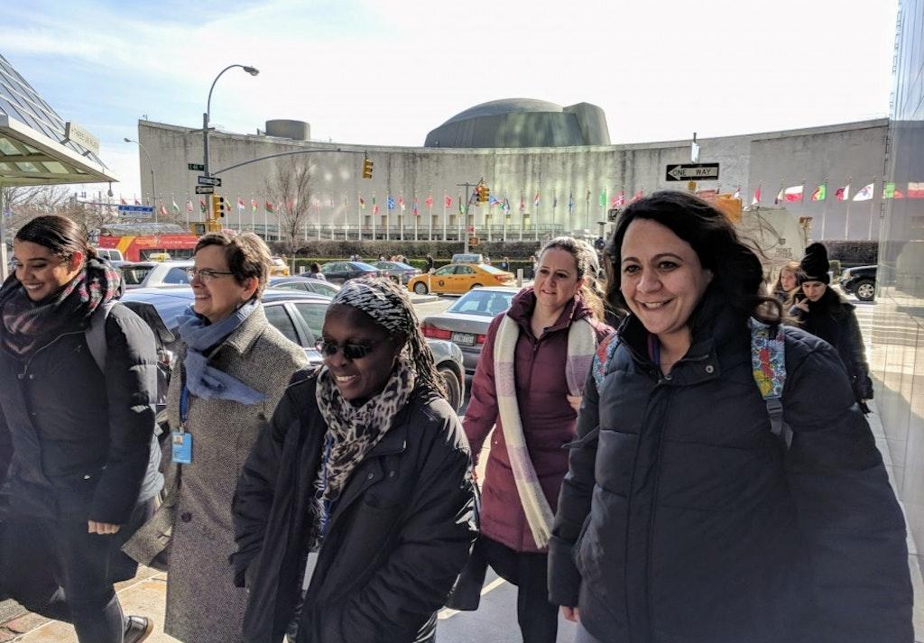 Des bahá'íes canadiennes se joignent à la 62ième Commission de la condition de la femme des Nations Unies (CSW)