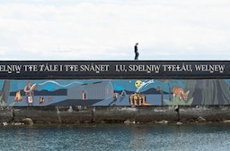 Land and sea mural builds unity in Victoria