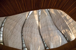 """Baha'i House of Worship in Chile wins award for """"structural artistry"""""""
