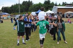 The True Spirit of Sport: Making Friends