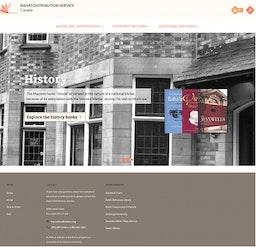 Le distributeur canadien d'ouvrages bahá'ís lance un nouveau site