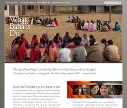 New international website of the Baha'i community launched