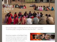 Mise en ligne du nouveau site web international de la communauté bahá'íe