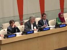 Canadian Baha'i representative participates in UN forum addressing anti-muslim discrimination