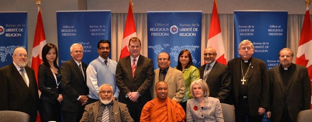La Communauté bahá'íe du Canada souhaite la bienvenue à l'ambassadeur du nouveau Bureau de la liberté de religion du Canada