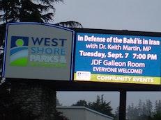 Canadian support for imprisoned Baha'i leaders