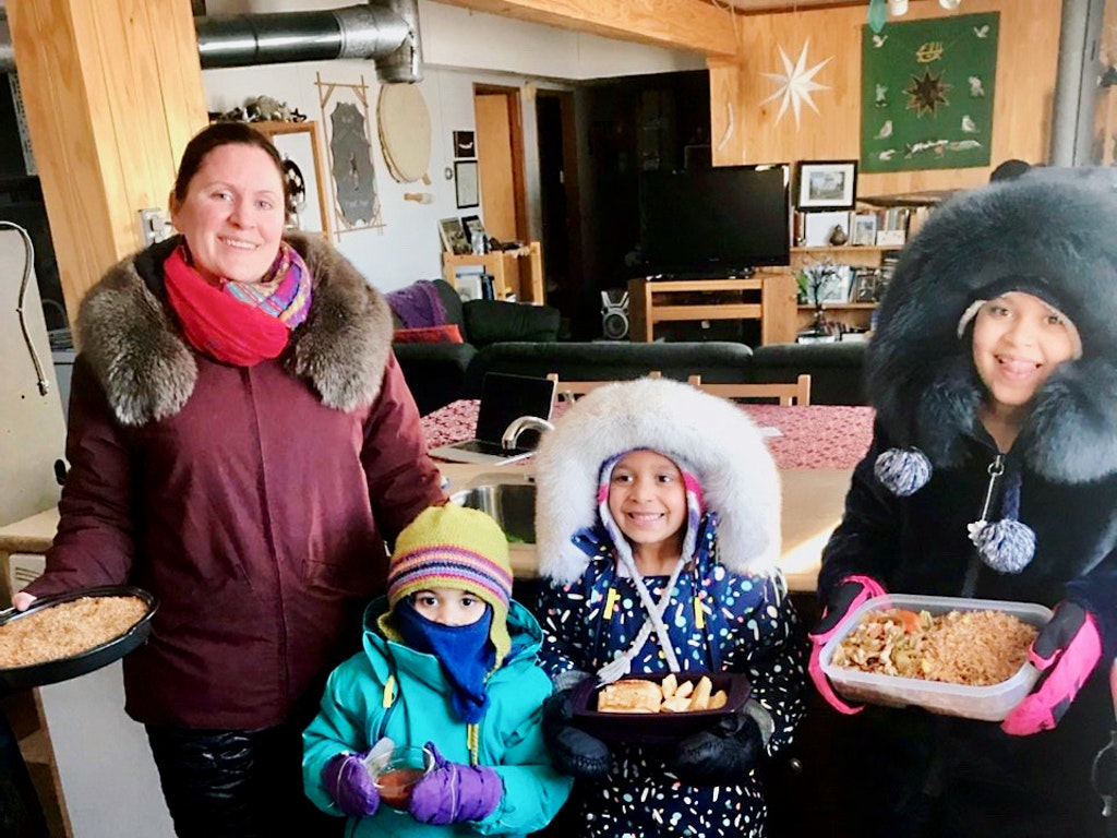 Communities reach out to friends and neighbours in the midst of a health crisis