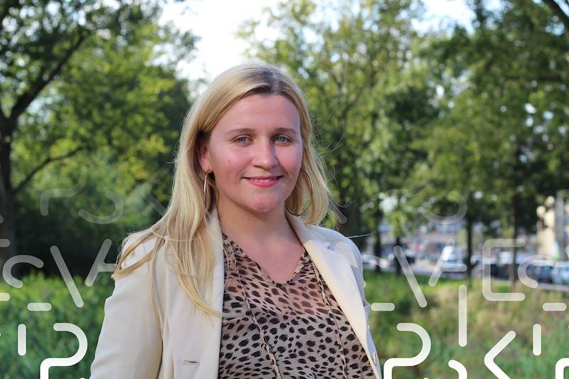 Darya Meinecke, copywriter/customer service representative bij Peaks