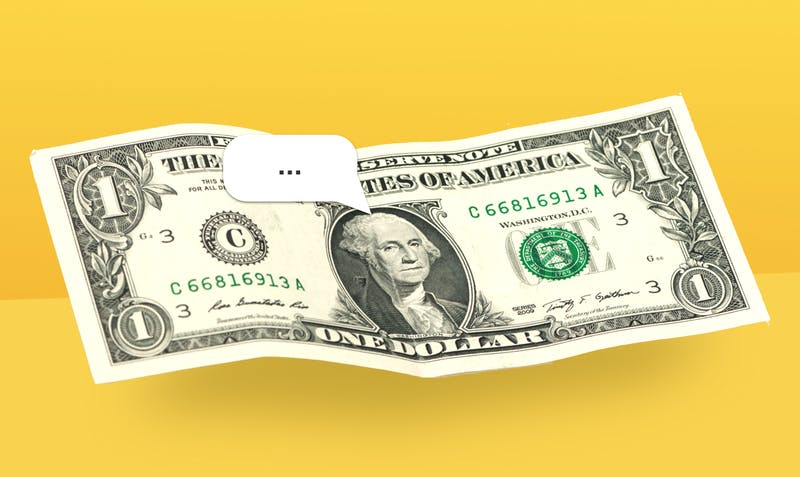 Praten over geld is taboe