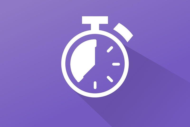 illustratie timer, waarom niet markt timen
