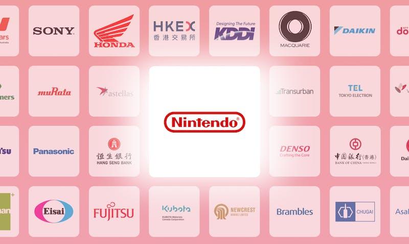 Peaks aandeel Nintendo uitgelicht