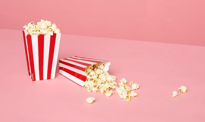 Popcorn voor tijdens het kijken van deze vijf films en docu's