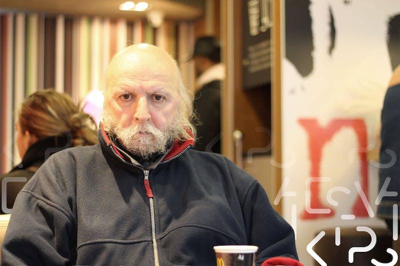Aldo bij McDonalds