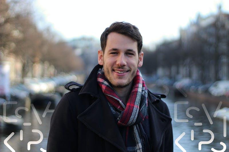 Enrico Castelli, iOS developer bij Peaks