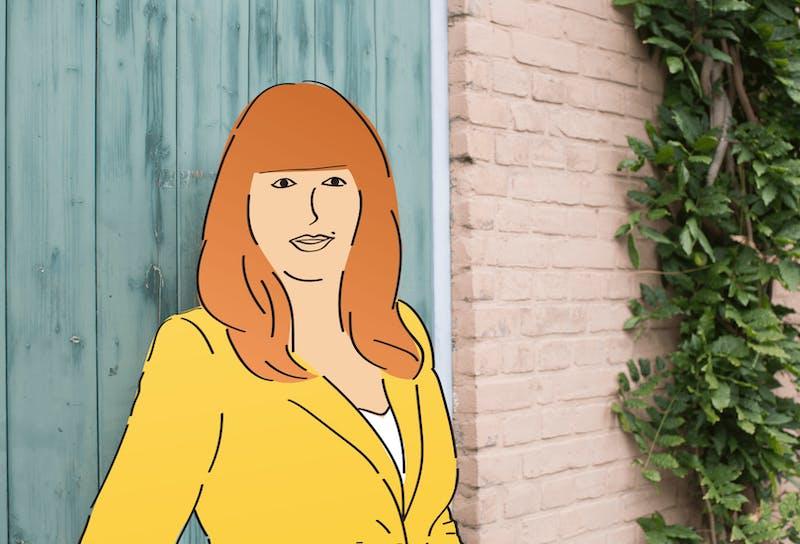 Illustratie van Renee Lamboo, aka Porterenee