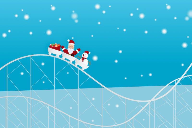 hoge rente heeft tijdens de kerst een slechte invloed op je beleggingen
