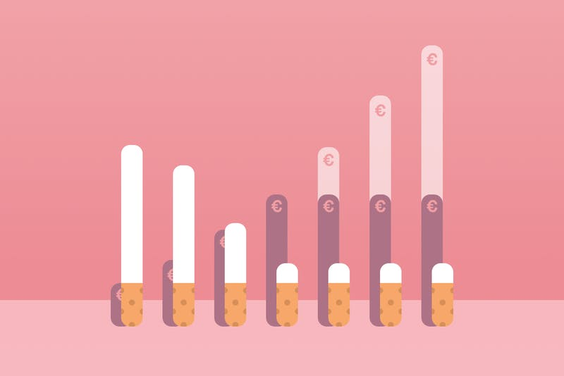 Wie viel Geld können Raucher sparen, wenn sie mit dem Rauchen aufhören