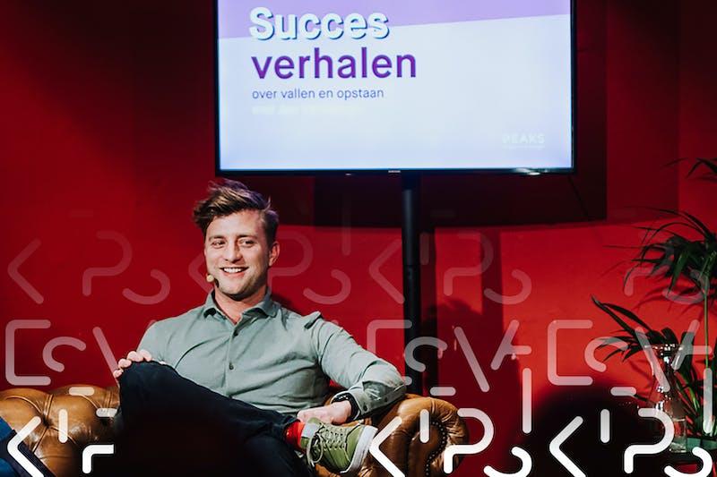 """Jan Versteegh (32): """"Ik verdien mijn geld met babbelen"""""""