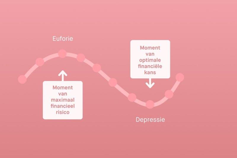 Emotionele cyclus van een belegger