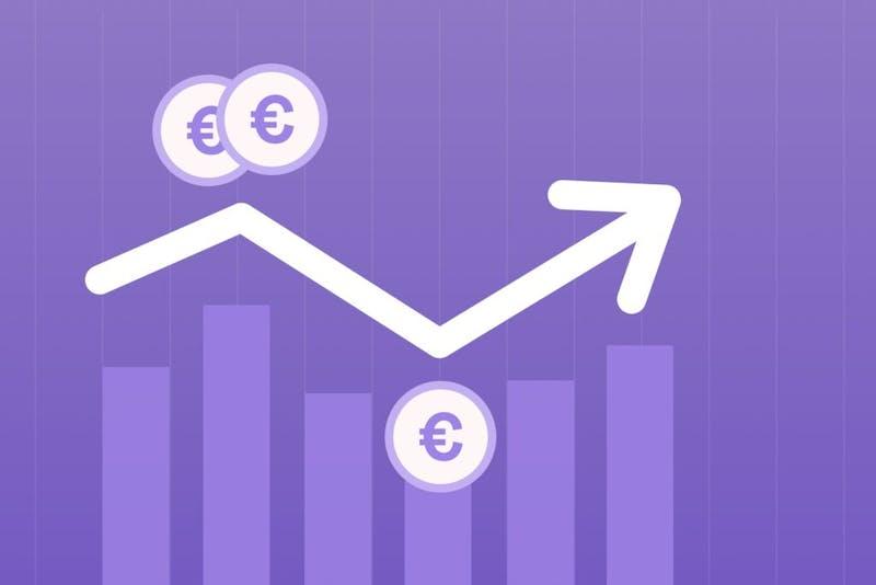 Ein Aktienkurs, der einen Börsencrash zeigt. Aber was sollte man bei einem Börsencrash tun?
