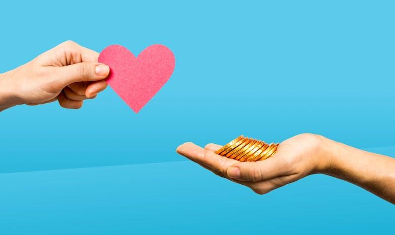 Liebe kaufen