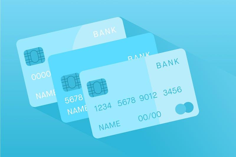 verschillende creditcards