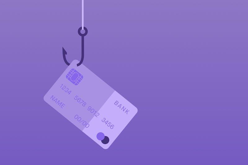 Missbrauchte Kreditkarte beim Online-Betrug