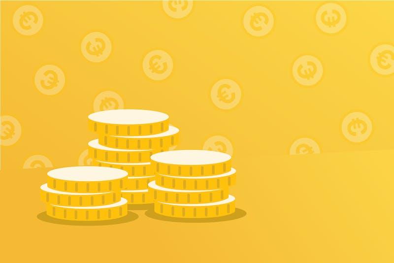 monedas dinero euros