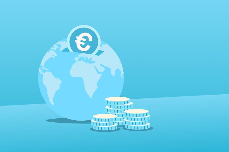 mundo como una hucha para simbolizar el dia mundial del ahorro