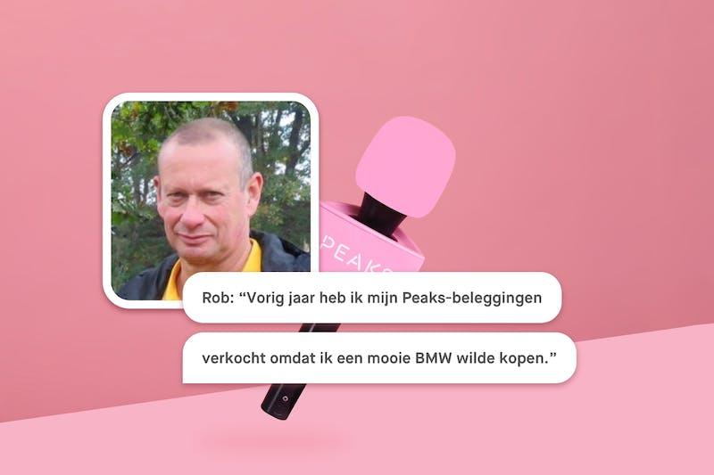 Peaker aan het woord: Rob
