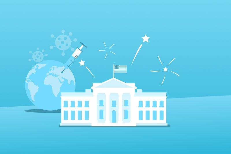Das Weiße Haus, ein Impfstoff gegen Covid-19