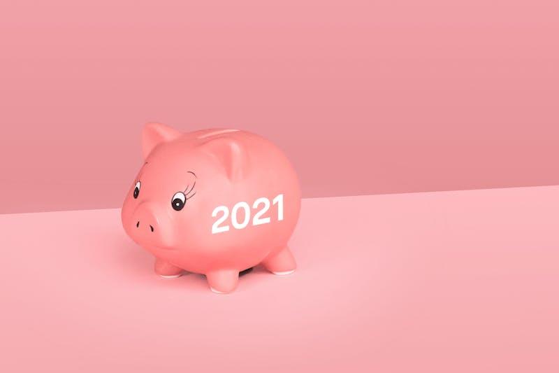 Sparschwein für 2021