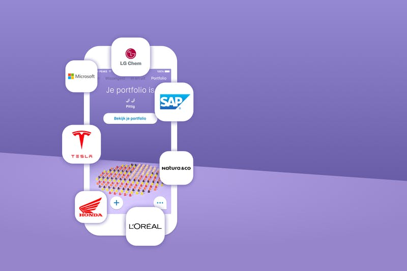 onda, LG Chem, L'oreal, Microsoft, Natura&Co, Sap en Tesla