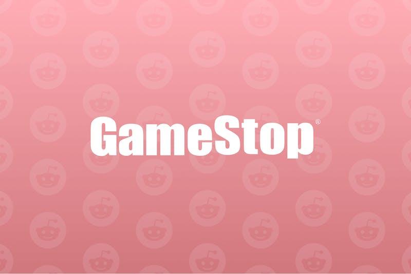 Logo der GameStop-Aktie
