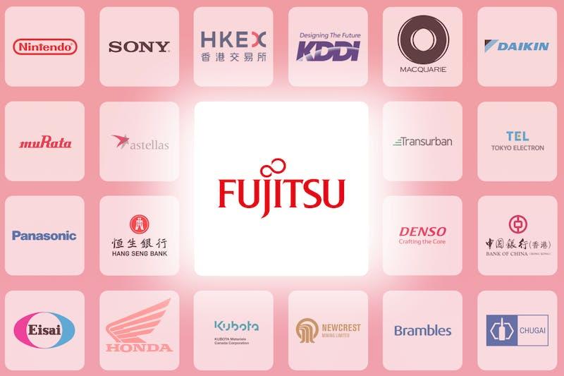 Logo der Fujitsu-Aktie