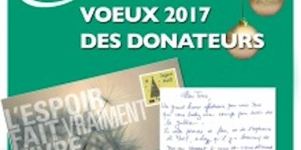 Visuel voeux donateurs 2017