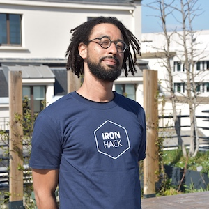 Ironhack Coding instructor Guillaume Amangoua