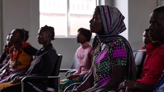 Women learning Africa