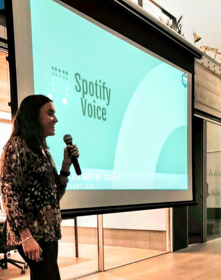 Spotify voice
