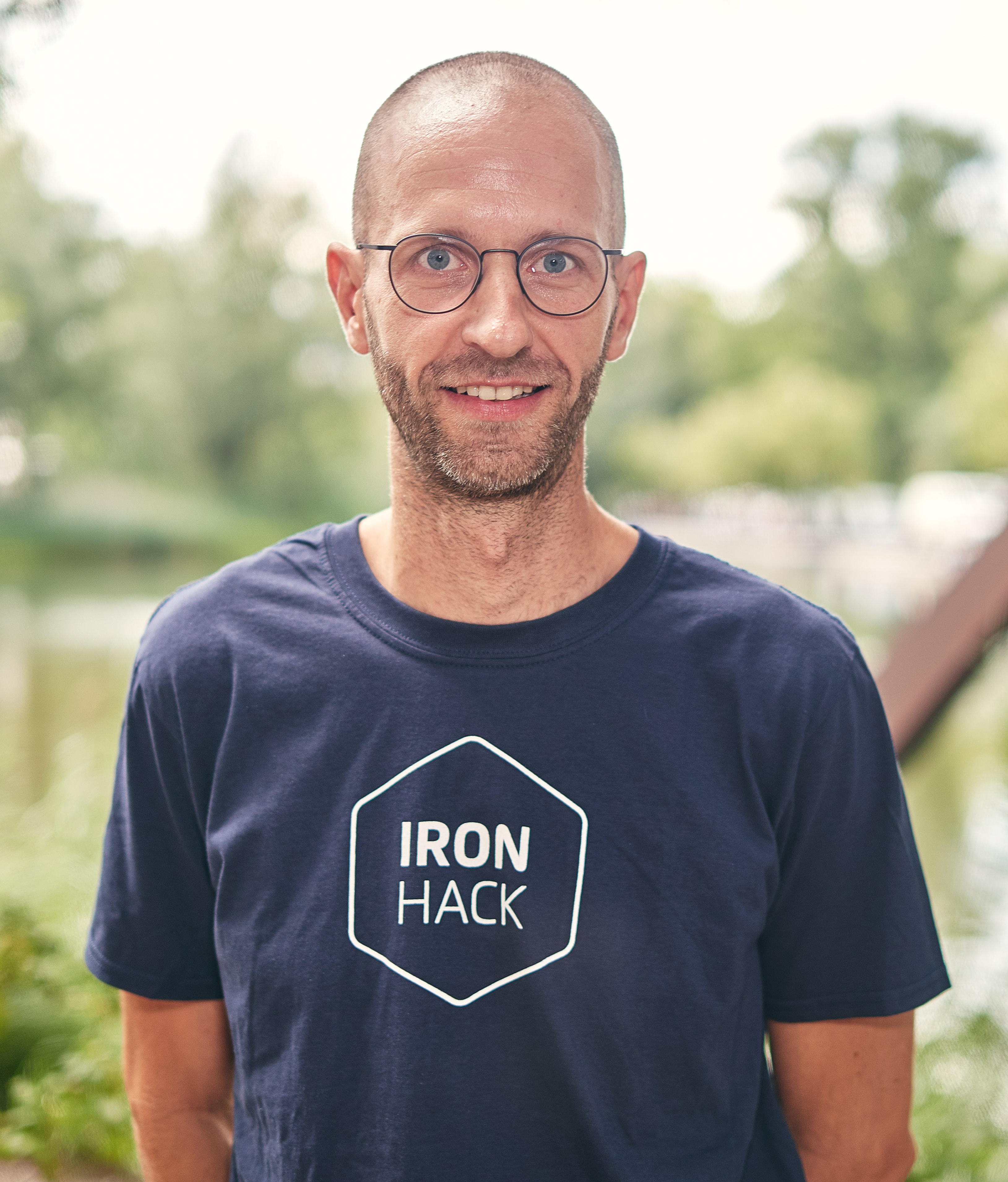 Ironhack Web development instructor Jan Redmann