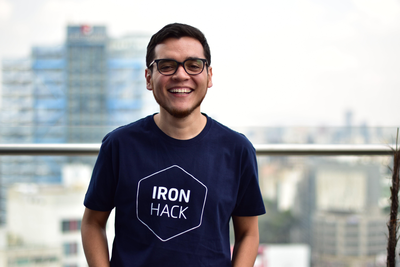 Ironhack UX/UI Design instructor Victor Flores
