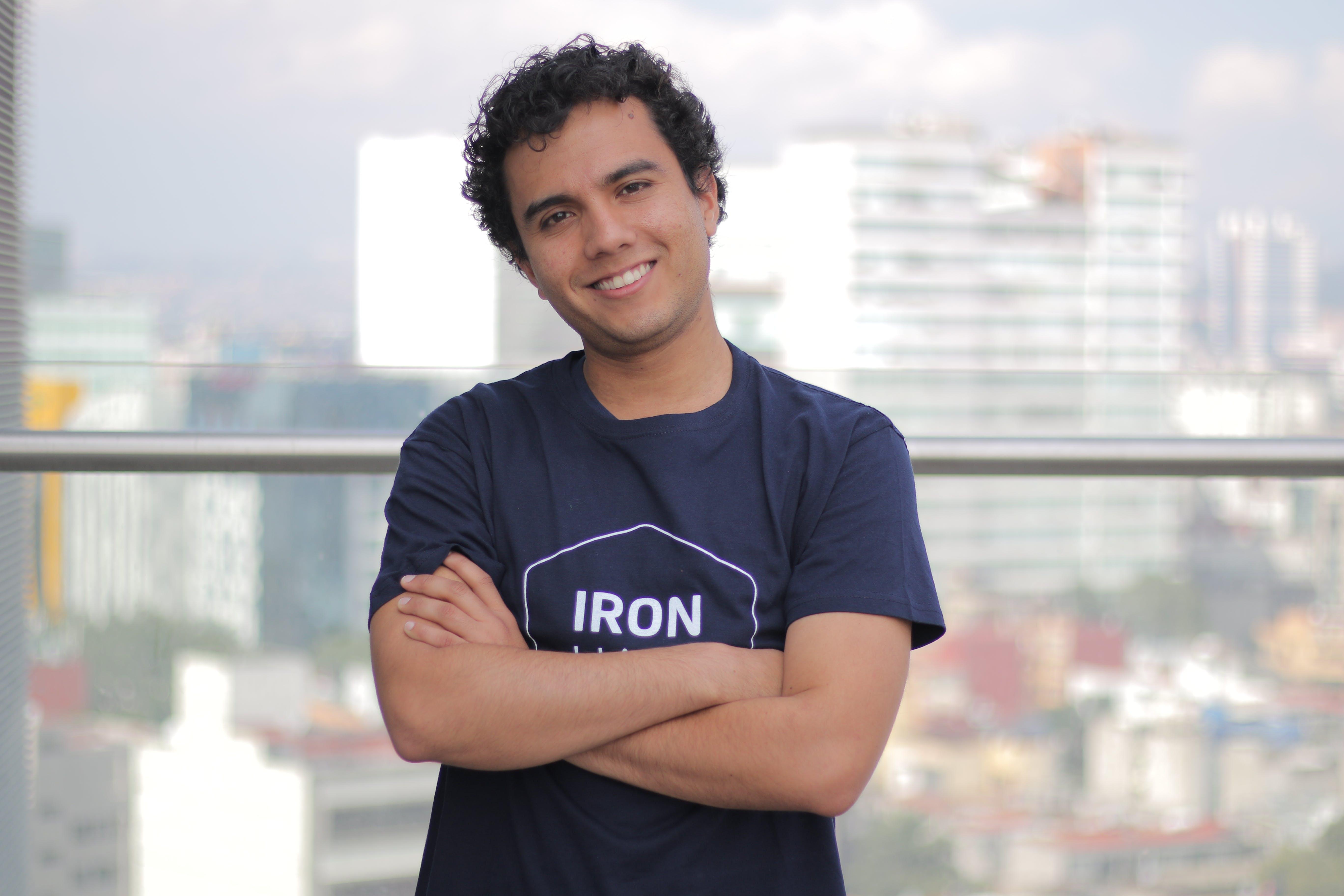 Ironhack Web development instructor Dylan Torres