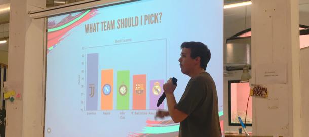 Data presentation Fifa