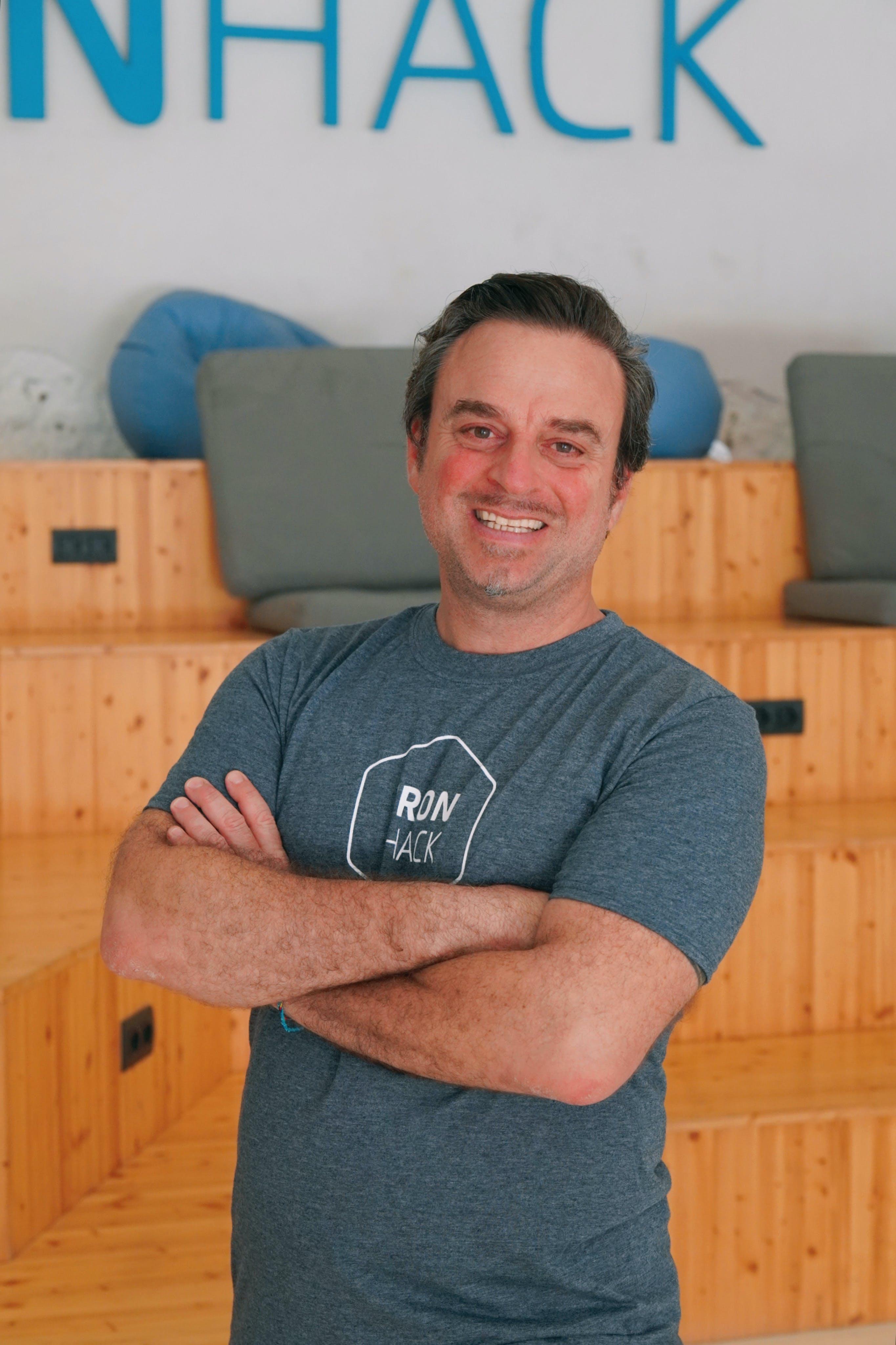 Ironhack Web development instructor Marco Santonastasi