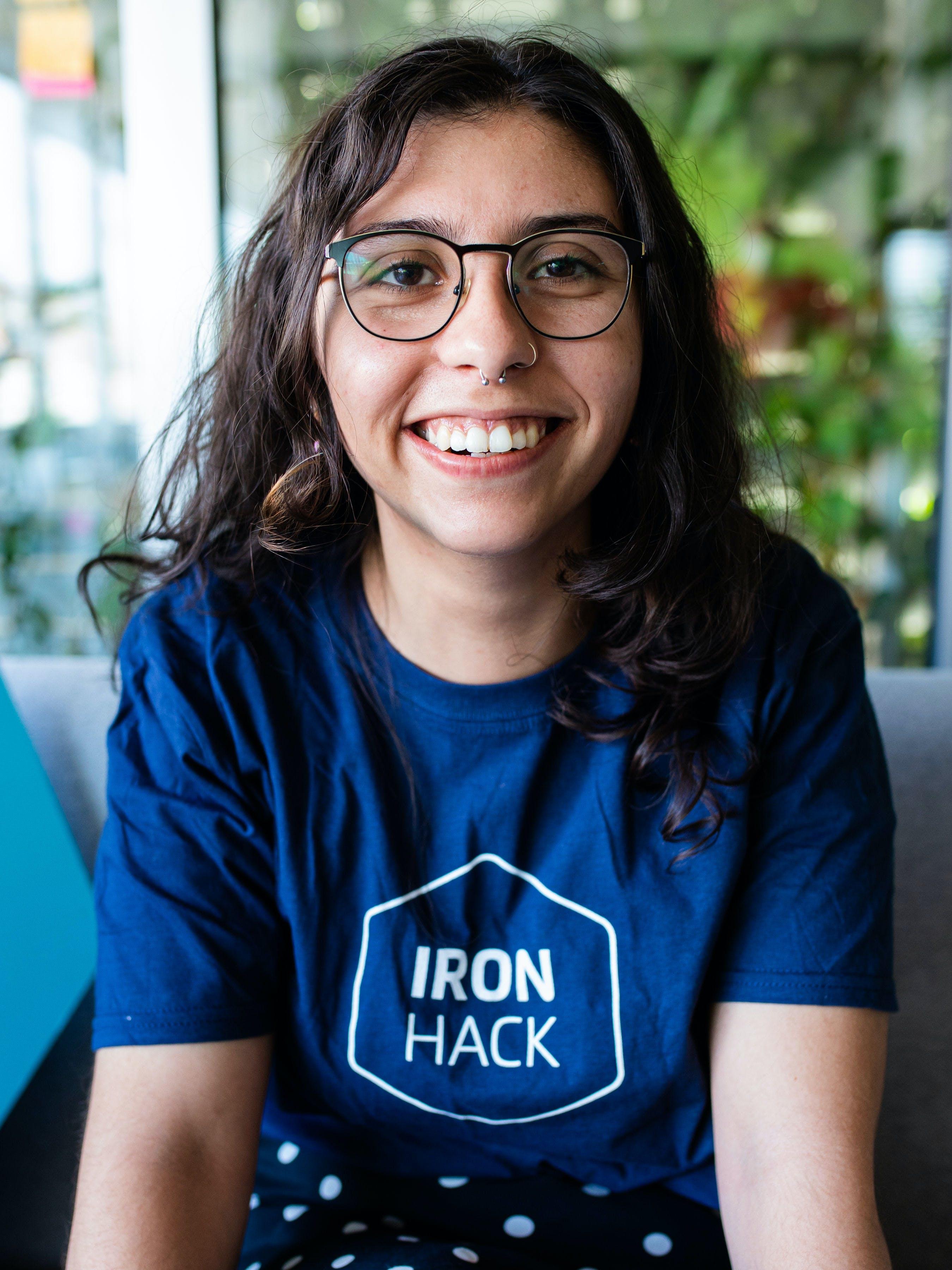 Ironhack UX/UI design instructor Rita Martins
